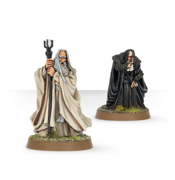 Middle Earth SBG: Saruman the White and Grima Wormtongue
