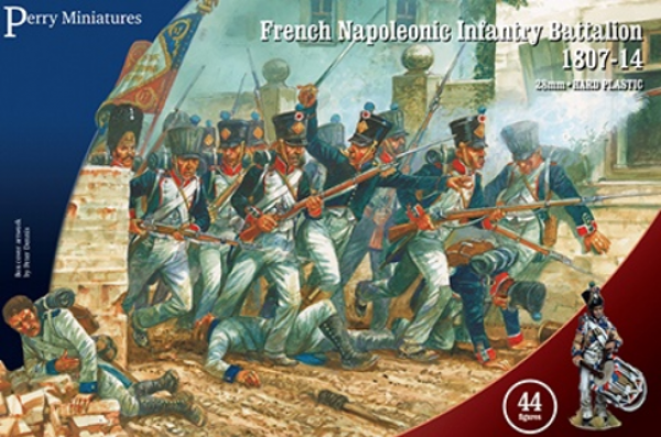 28mm Napoleonic: (French) French Napoleonic Infantry Battalion 1807-14