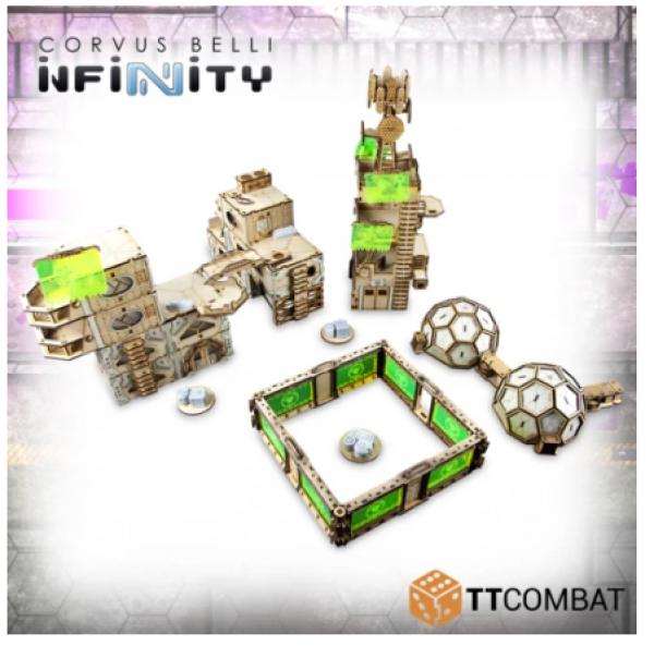 28mm Terrain: Sci-Fi Utopia - Infinity Complex