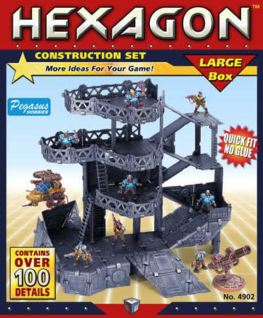 Hexagon: Miniature Terrain Set (Large)