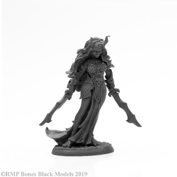 Reaper Bones Black: Ziba, Female Efreeti