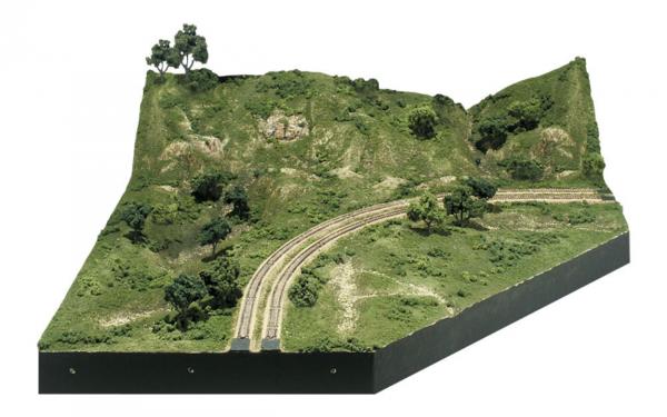 Woodland Scenics: Mod-U-Rail® System - Corner Module Kit