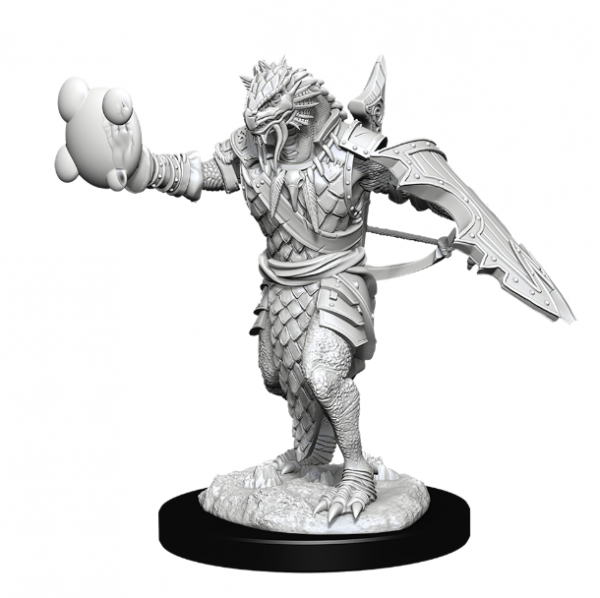 D&D Nolzurs Marvelous Unpainted Minis: Wave 11- Male Dragonborn Paladin