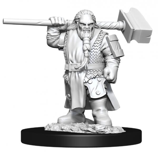 D&D Nolzurs Marvelous Unpainted Minis: Wave 11- Male Dwarf Cleric
