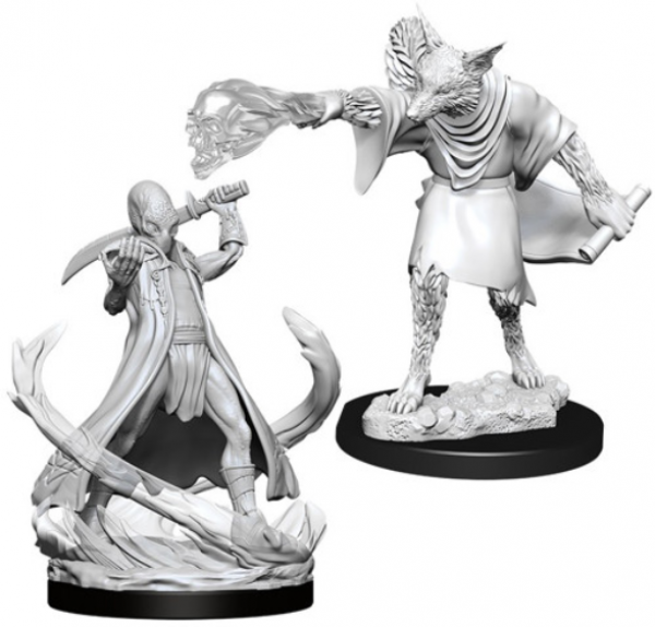 D&D Nolzurs Marvelous Unpainted Minis: Wave 11- Arcanaloth & Ultroloth