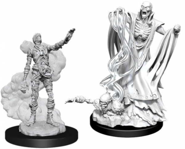 D&D Nolzurs Marvelous Unpainted Minis: Wave 11 -  Lich & Mummy Lord