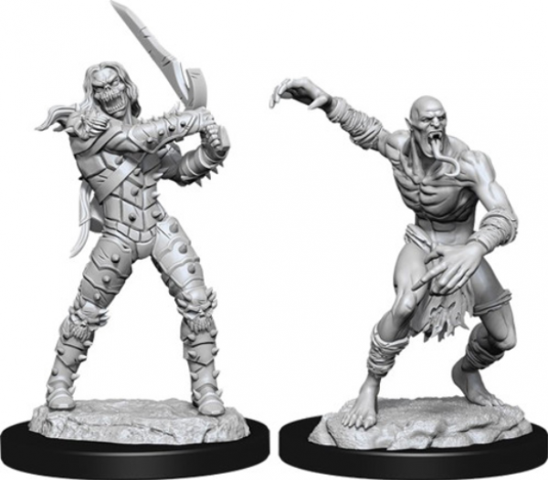 D&D Nolzurs Marvelous Unpainted Minis: Wave 11 - Wight & Ghast