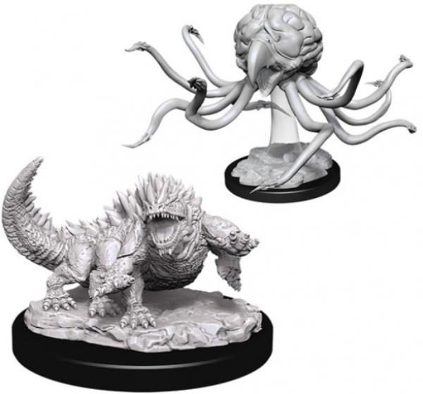 D&D Nolzurs Marvelous Unpainted Minis: Wave 11 - Grell & Basilisk
