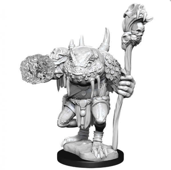 D&D Nolzurs Marvelous Unpainted Minis: Wave 11 - Green Slaad