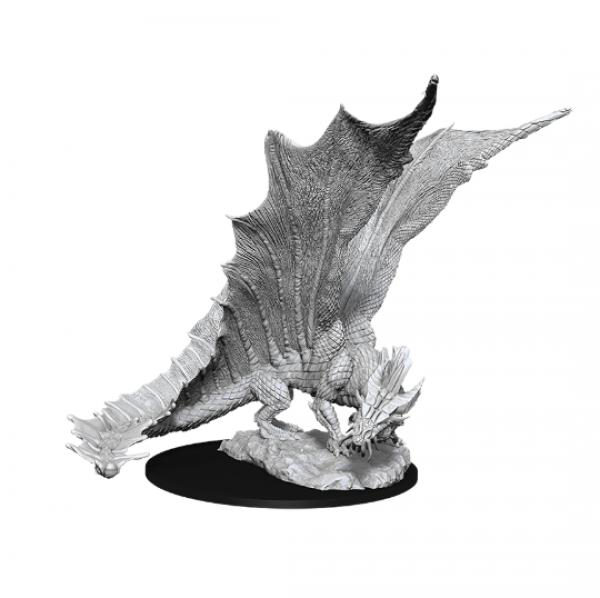 D&D Nolzurs Marvelous Unpainted Minis: Wave 11 - Young Gold Dragon