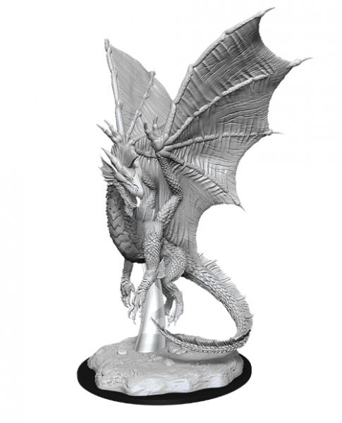 D&D Nolzurs Marvelous Unpainted Minis: Wave 11 - Young Silver Dragon