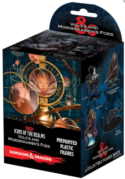 D&D Miniatures: Icons of the Realms Volo & Mordenkainen's Foes Booster Pack (1)
