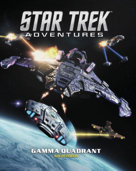 Star Trek Adventures RPG: Gamma Quadrant Sourcebook (HC)