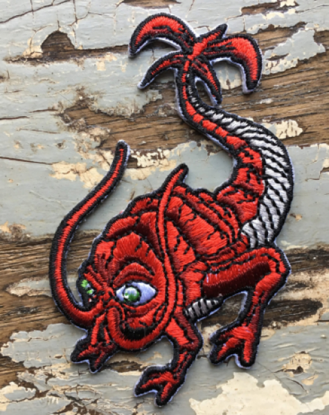 Creature Curation: Rusty the Rustbeast Patch