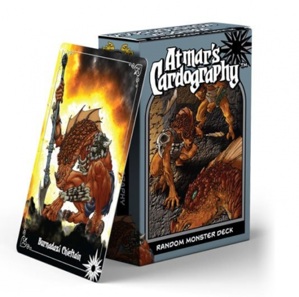 Atmar's Cardography: Random Monsters