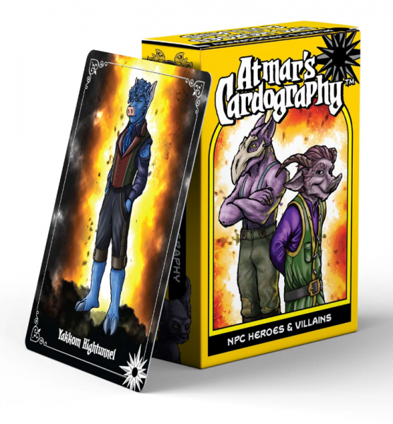 Atmar's Cardography: NPC Heroes & Villains