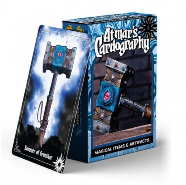 Atmar's Cardography: Magical Items & Artifacts