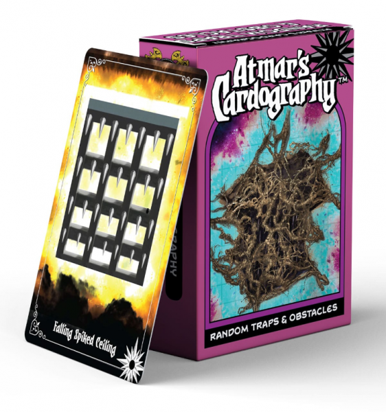Atmar's Cardography: Random Traps & Obstacles