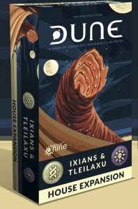Dune Board Game: Ixians & Tleilaxu Dune House Expansion