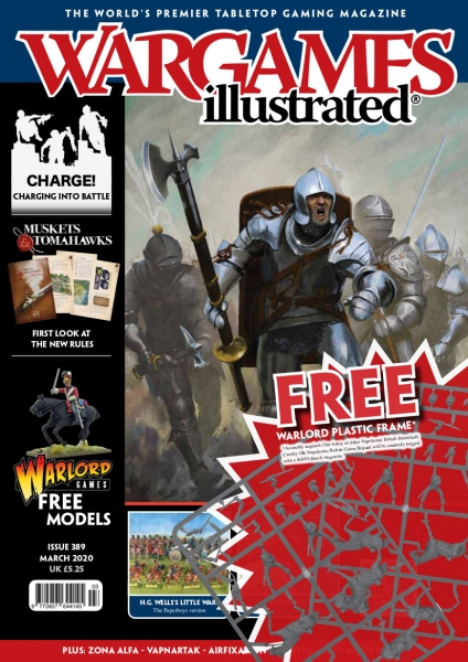 Wargames Illustrated Magazine #389 (includes Napoleonic Cavalry sprue)