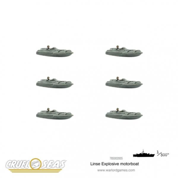 Cruel Seas: Linse Explosive Motorboat
