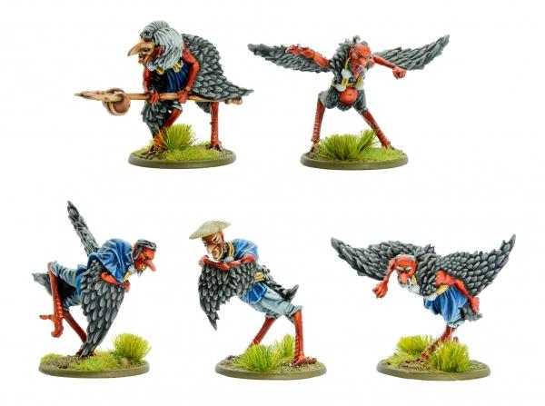 Warlords of Erehwon: Tengu