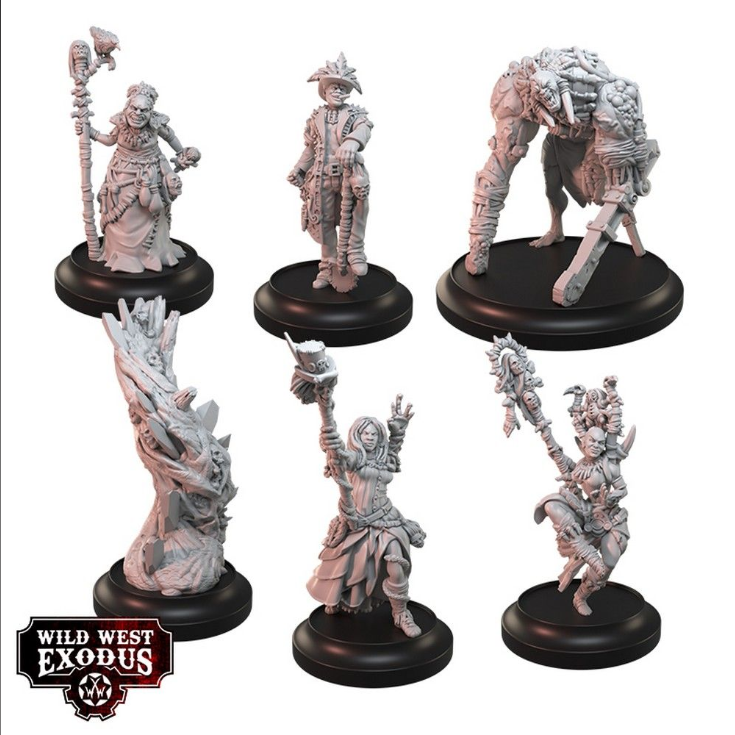 Wild West Exodus:  Court of the Nazombu Posse Box Set