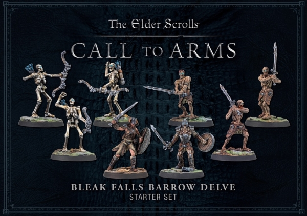 Elder Scrolls: Bleak Falls Barrow Delve Starter Set (Plastic)