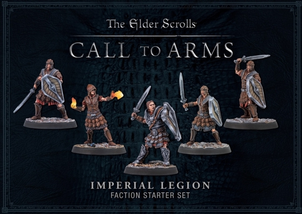 Elder Scrolls: Call To Arms Imperial Legion Faction Starter Set (Plastic)