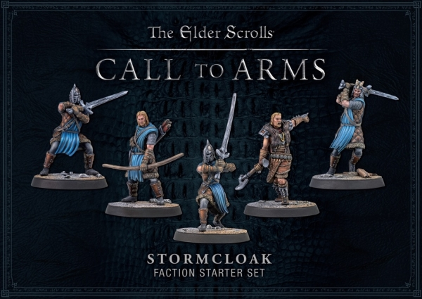 Elder Scrolls: Call To Arms Stormcloak Faction Starter Set (Plastic)