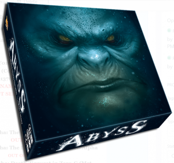 Abyss: 5th Anniversary Edition (Core Board Game)