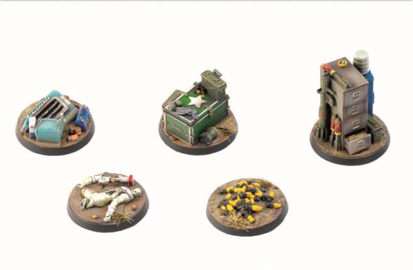 Fallout: Wasteland Warfare - Terrain Exp. Objective Markers 2