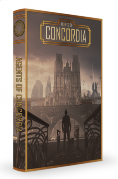 Agents of Concordia RPG (Core Rules)