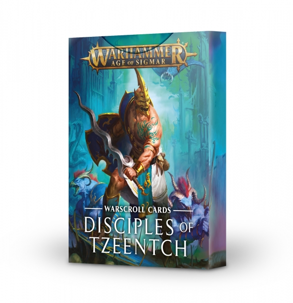 Age of Sigmar: Warscroll Cards - Disciples of Tzeentch (2020)