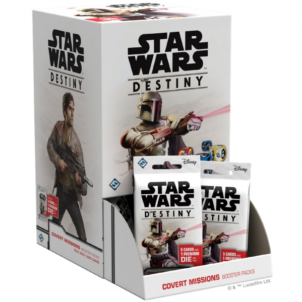 Star Wars Destiny: Covert Missions Booster Pack (1)