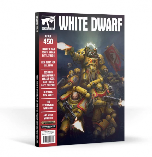 White Dwarf Magazine JANUARY 2020 (Issue 450)