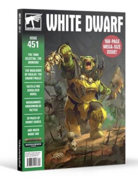 White Dwarf Magazine Issue 451 (FEBRUARY 2020)