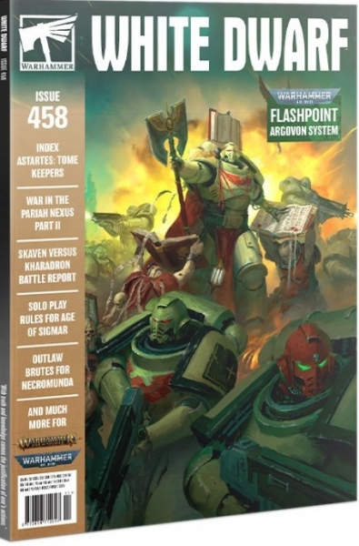 White Dwarf Magazine #458 (NOVEMBER 2020)