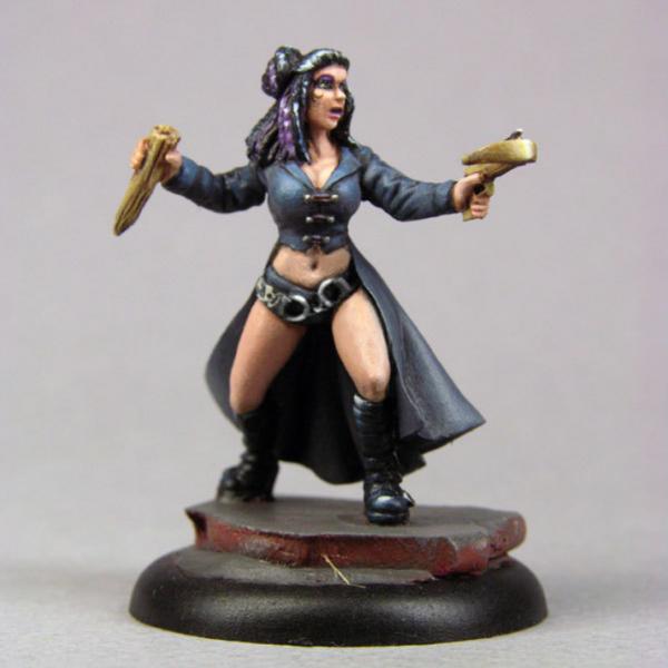 Bombshell Miniatures: Andrea, Vampire Hunter