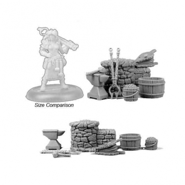 Bombshell Miniatures: Forge Set
