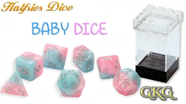 Halfsies Dice: Baby Set