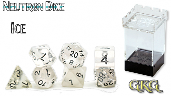 Neutron Dice: Ice Dice Set