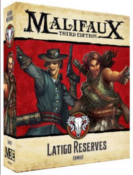 Malifaux (M3E): Latigo Reserves