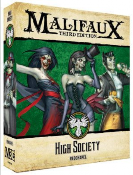 Malifaux (M3E): Resurrectionists - High Society