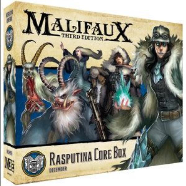 Malifaux (M3E): Rasputina Core Box
