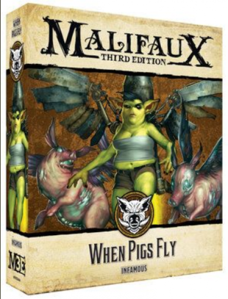 Malifaux (M3E): When Pigs Fly