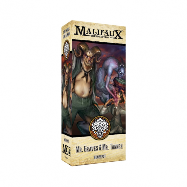 Malifaux (M3E): Alt Graves and Tannen
