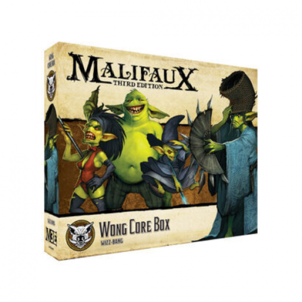 Malifaux (M3E): Bayou - Wong Core Box
