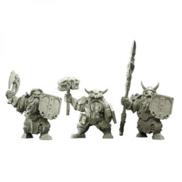 Kings Of War Vanguard: Northern Alliance Dwarf Clansmen Reinforcements