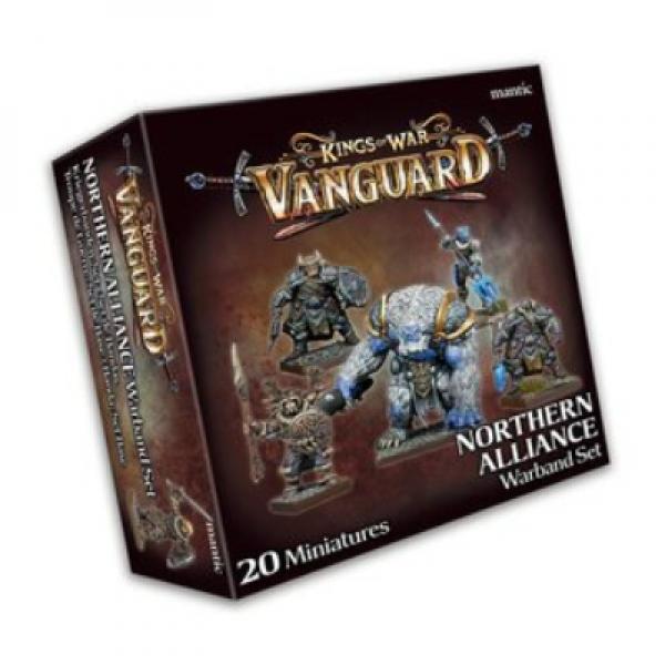 Kings Of War Vanguard: Northern Alliance Warband Set (2020)